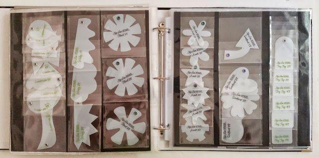 Brought To You By The Letter {J}. Fusing my Kiwi Lane Designs Templates. Organized Kiwi Lane Designs Template Storage (Scrapbooking)