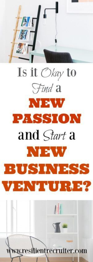 We all have interests in several areas, but can we act on all of them? How do you know it is okay to find a new passion and start a new business?