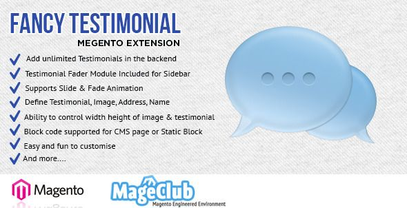 Fancy Testimonial Magento Extension (Magento Extensions)
