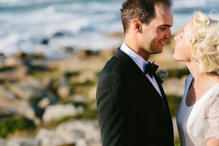 Förtitt på Karin och Davids fantastiska bröllop på Tylösand -