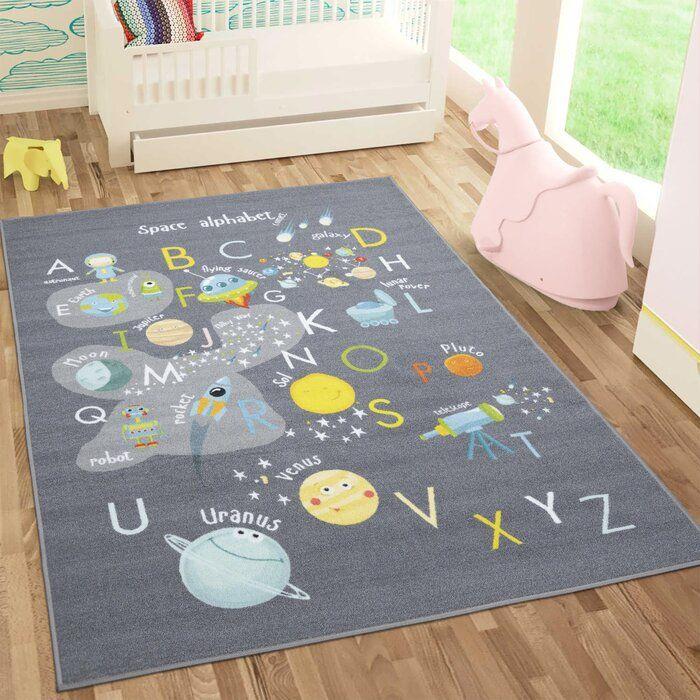 alphabet area rugs