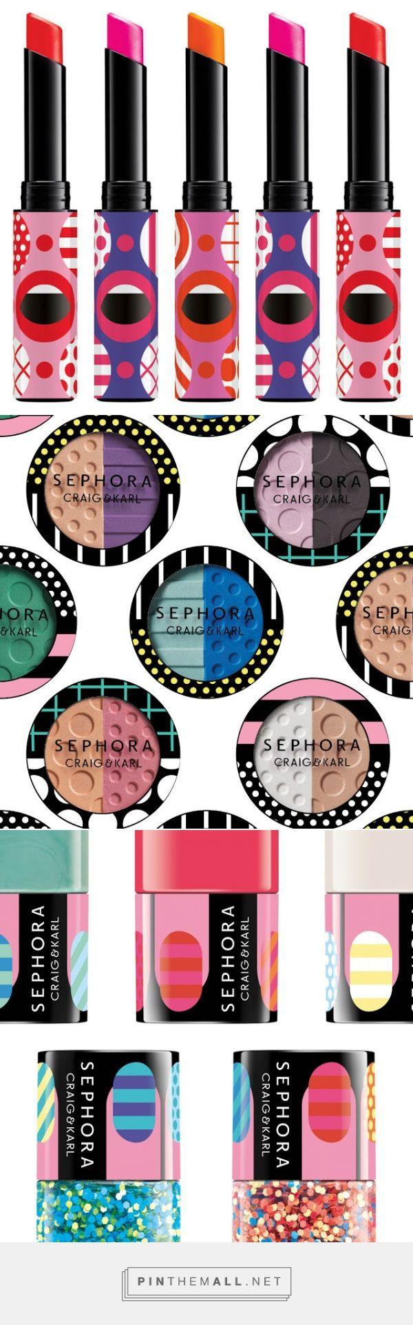 Sephora  cosmetics packaging designed by Craig & Karl…