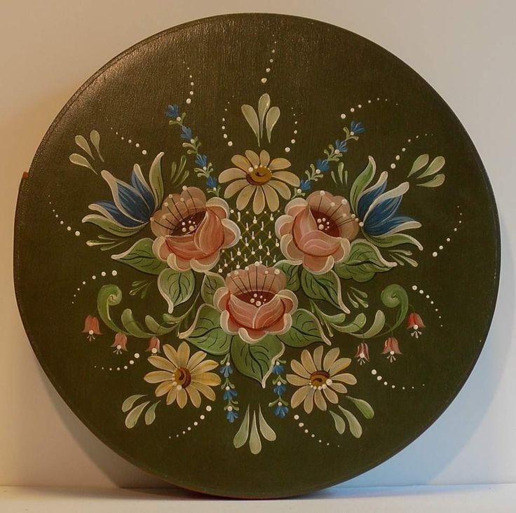 Bavarian Floral Schachtel - Hand Painted Box