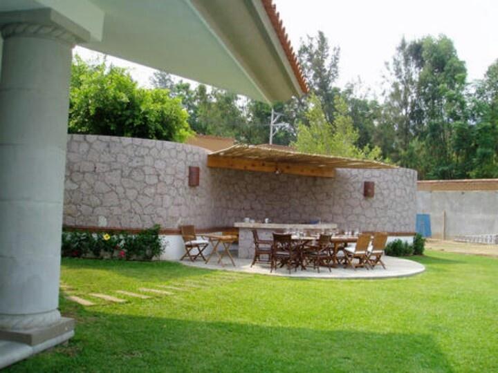 Asador ideas para el jardin pinterest patios for Jardines para patios