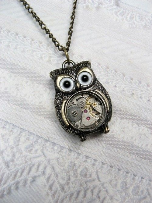 steampunk jewelry   Tumblr-I would want a gold one, like from Clash of the Titans. Love. Love. Love!