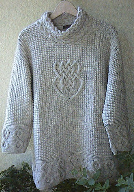 Irish knit sweater Lets be crafty Pinterest Irish, Knit sweaters a...