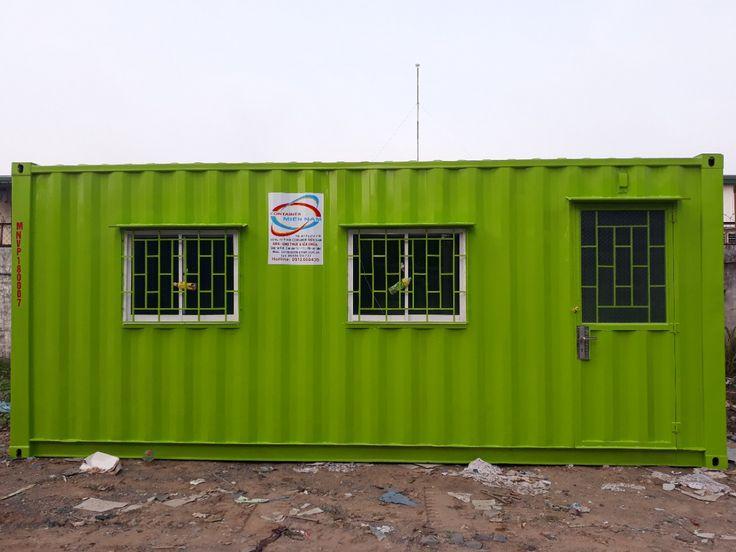 Hình ảnh thực tế container kho, container văn phòng tại KCN Agtex Long Bình, Biên Hòa, Đồng Nai vừa được hoàn thành trước dịp tết nguyên đán 2018
