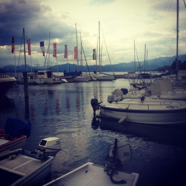 Italy Lago di Garda harbour