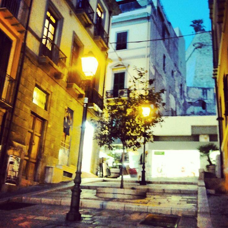A beautiful postcard Glimpses of Cagliari