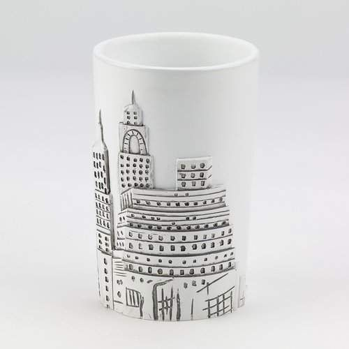 House of Hampton Jones Street Tumbler and Toothbrush Holder