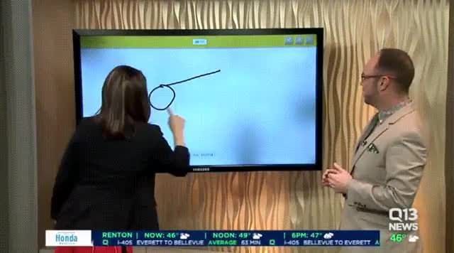 "News anchor draws a ""cannon"" on Google Quick Draw"