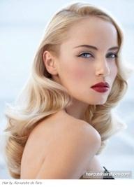 Maquillaje de Novias Retro de los años 50s estilo dramatico hollywood