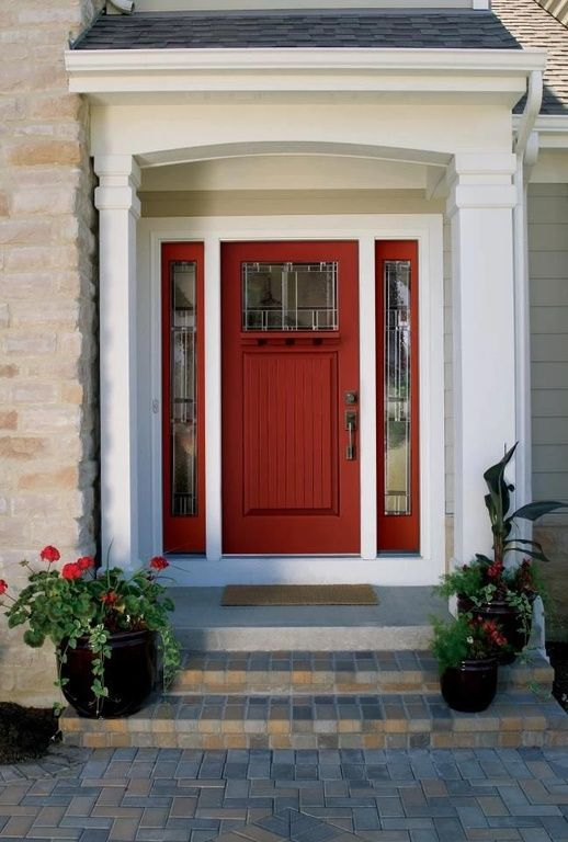Painted Front Door Ideas 143 best doors, decks & decisions images on pinterest | front