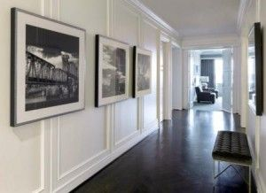 Dale Capital Partners Executive Hallway~ Bear Hill Interiors, photography by Nancy Nolan