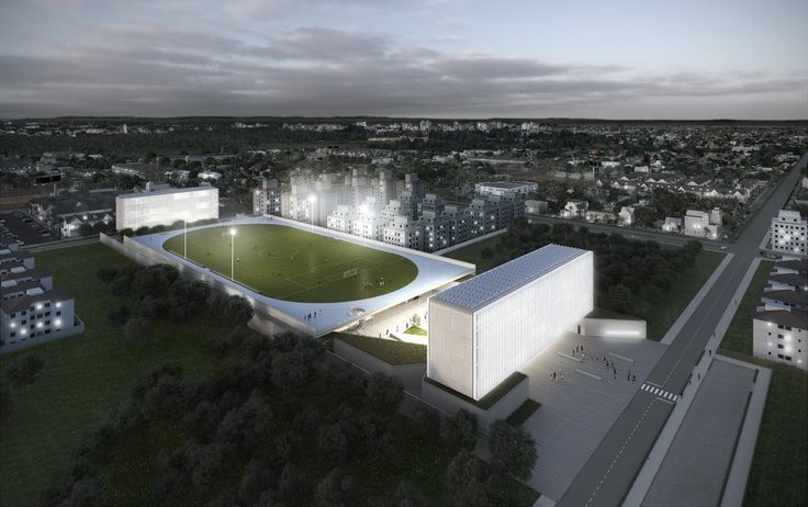 OSPA Wins Competition to Design Brazilian Sports Campus in Canoas
