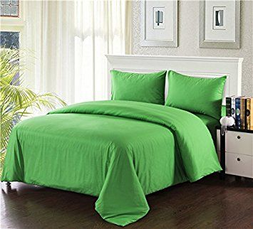 Image result for solid green duvet covers