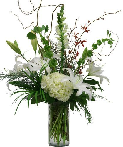 17 best images about christmas arrangements on pinterest Christmas orchid arrangements