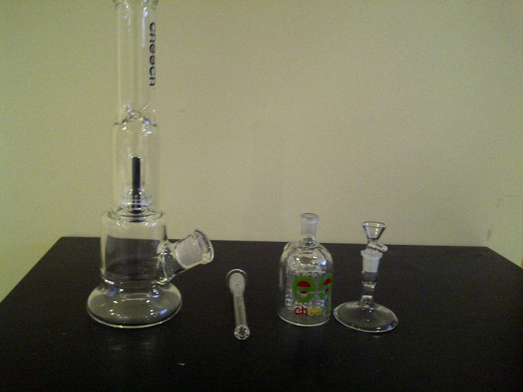 14' SHOWERHEAD WATER PIPE  BLACK LABEL  THICK JOINT  14 MM  BOWL  14 MM ASHCATCHER   14MM BOWL HOLDER