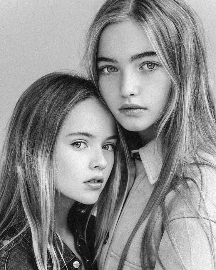 Две самые красивые девочки мира снялись в совместной фотосессии : Кристина Пименова и Анастасия Безрукова / фото 2
