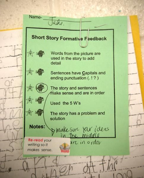 23 best Descriptive feedback images on Pinterest School, Spanish - examples of feedback forms