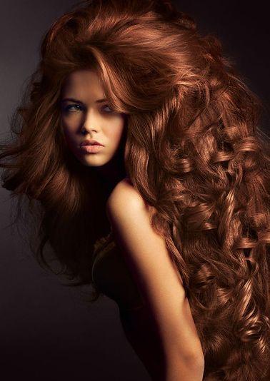 bakır ışıltılı saç modası