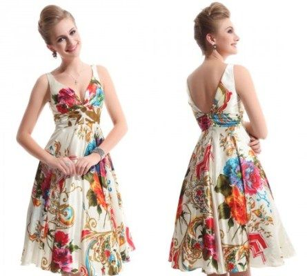 Vestido para ser usado tanto de dia quanto de noite, dependendo do evento! #vestido #brancoefloral