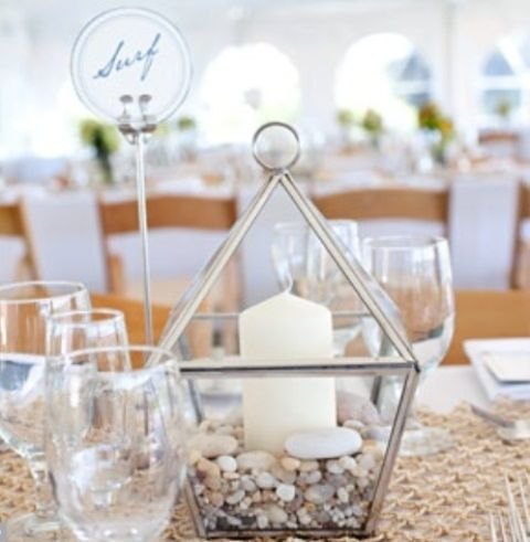 34 Creative Non-Floral Wedding Centerpieces | Weddingomania