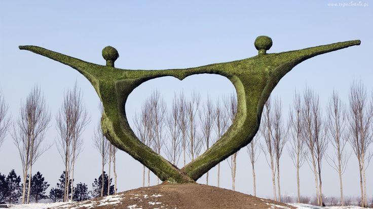 Park, Posąg