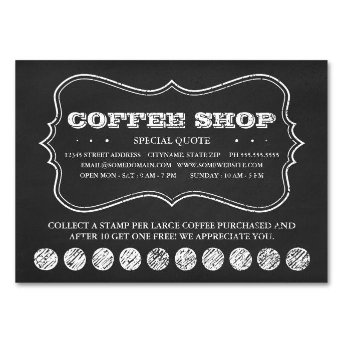 Buy Coffee Loyalty Cards