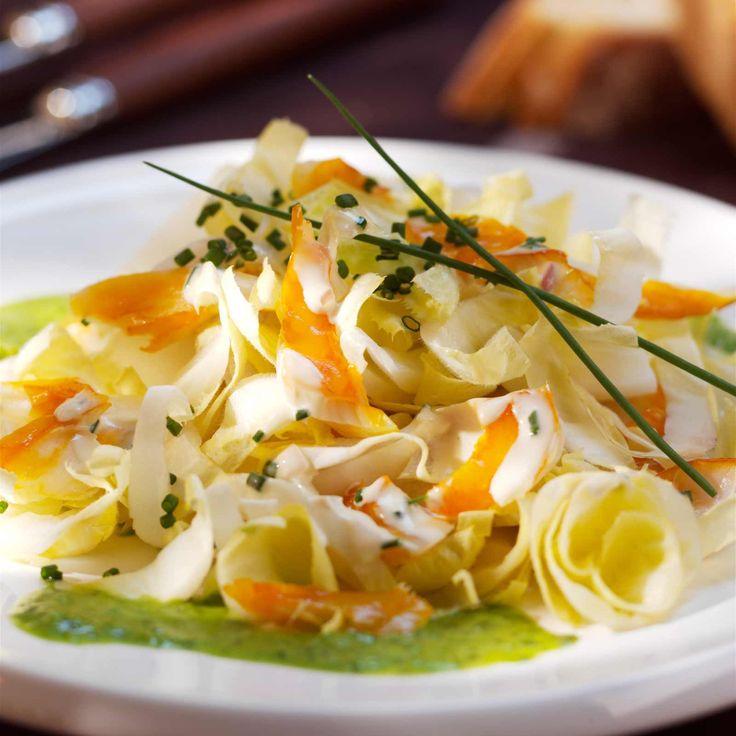 Découvrez la recette de la salde de haddock aux endives