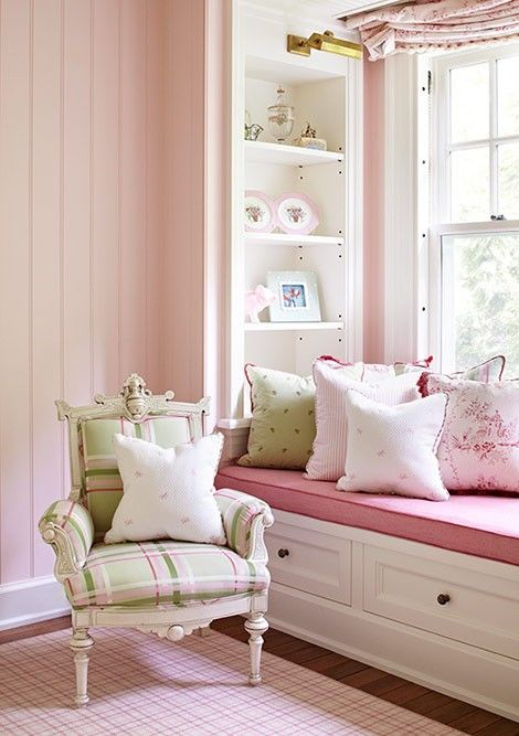 window seat and cushion