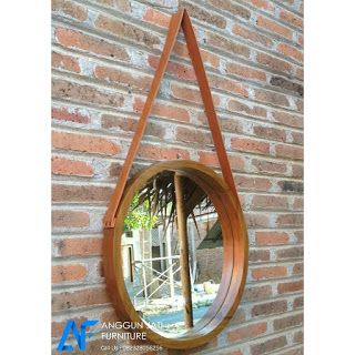 Cermin Hias Minimalis Bundar | Bingkai Cermin Dinding Minimalis