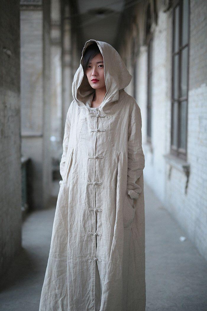 Cool Maxi Dresses for Women Linen dress Cotton dress Linen coat Hooded Long sleeve Maxi dresses Custom-made Plus size dress Autumn Large size dress plus size clothing Check more at http://24store.tk/fashion/maxi-dresses-for-women-linen-dress-cotton-dress-linen-coat-hooded-long-sleeve-maxi-dresses-custom-made-plus-size-dress-autumn-large-size-dress-plus-size-clothing/
