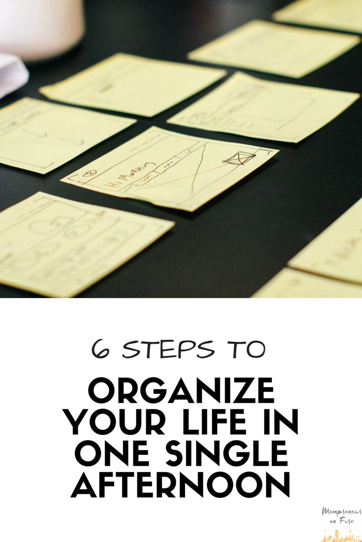 YES! I need this and am going to start right now! I have to get out of this overwhelm and get my life organized! I am going to print this out and get organized!