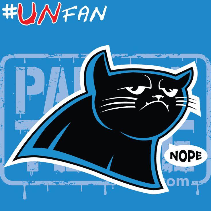 Funny Panthers Parody Logo #UNfan #Saints #Buccaneers #Falcons #Panthers #NFL #ParodyTease #memes