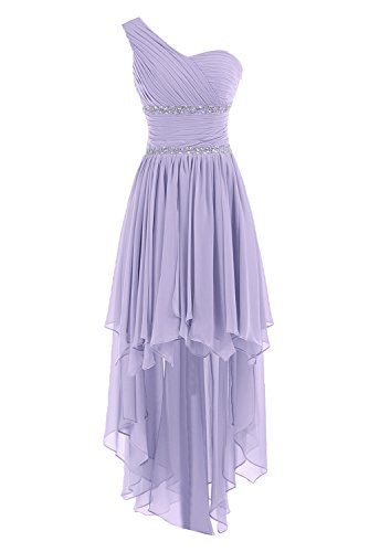 Sunvary One Shoulder High Low Chiffon Bridesmaid Dresses Homecoming Gowns for Juniors Prom Evening Dress US Size 2- Lilac Sunvary http://www.amazon.com/dp/B00M3TCQJ4/ref=cm_sw_r_pi_dp_XM-.tb1GYS93A