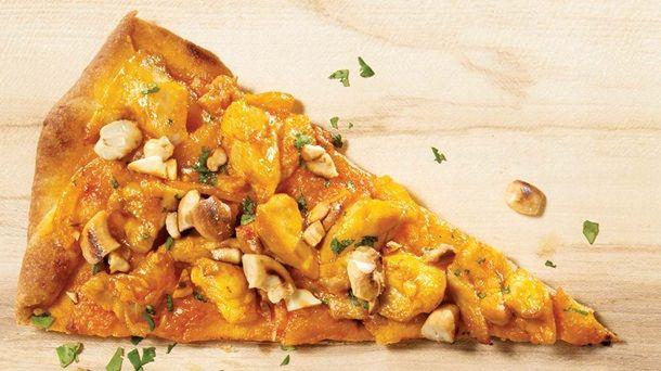 pizza à l'indienne