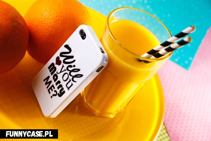 #drink #juice #etui #iphone #case #cover #telefon #orange #fruit #funnycase