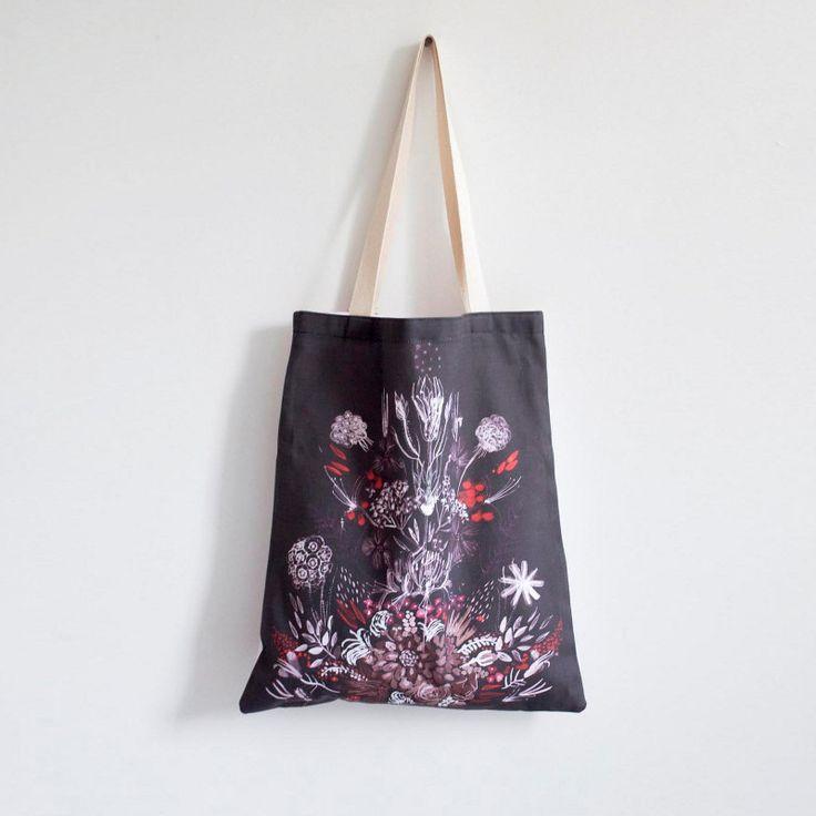 Tote by Kaye Blegvad.: Fabrics Prints, Totes Bags, Leah Totes, Textiles Bags, Blegvad Totes, Bags Design, Leah Goren, Sweet Peas, Kay Blegvad