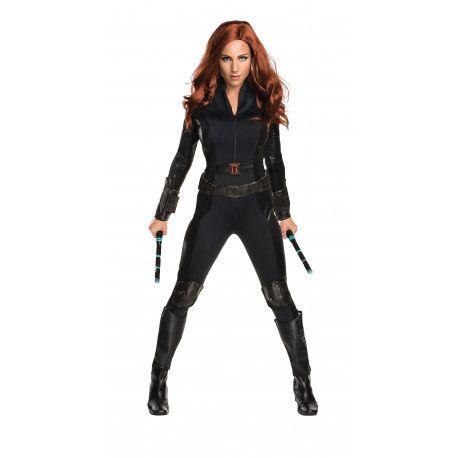Disfraz de Viuda Negra Marvel para Mujer #Civil #War #Capitan #America #Costume