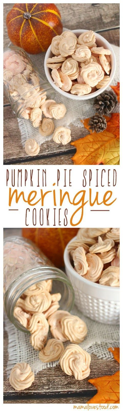 Mama Loves Food!: Pumpkin Spice Meringue Cookies and a {{KITCHENAID MIXER GIVEAWAY}}