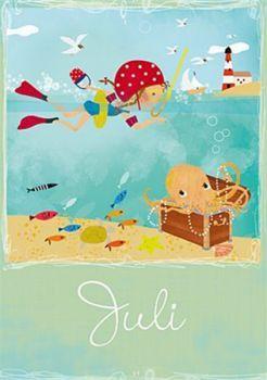 Postkarte Elisandra Juli 5267