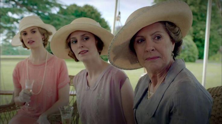 Downton Abbey - Lady Rose, Lady Edith, et Isobel Crawley