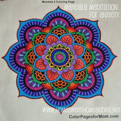Home Sweet Homebodies: Mandala Meditation for Anxiety