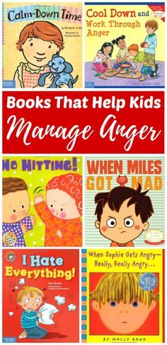 Learning how to manage emotions is important to a child's social-emotional health and development. We need to help our children understand their feelings and build skills for coping with emotions such as anger in safe ways. There are books on this list fo