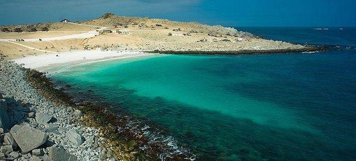 Playa La Virgen Atacama, Chile
