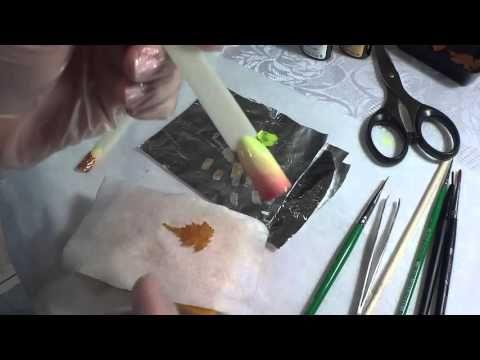 Осенний дизайн ногтей - YouTube