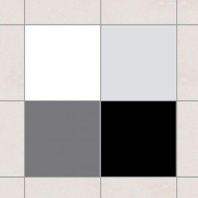 Fliesenaufkleber   Farbset Monochrom 10cm X 10cm #Fliesensticker  #Fliesenbild #Fliesendeko #Fliesenaufkleber #