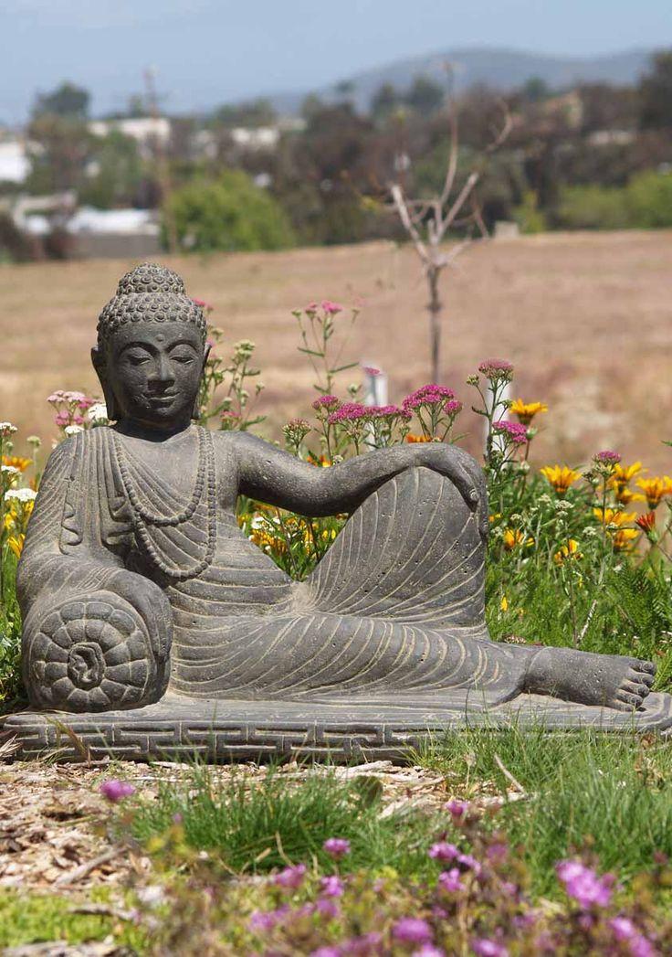 "View the Reclining Buddha Statue 31"""