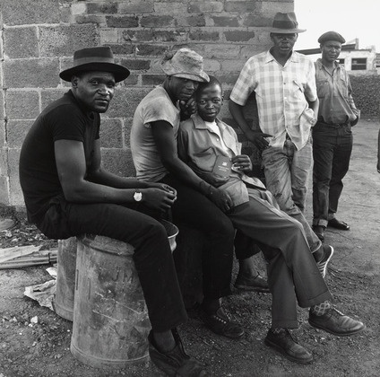 David Goldblatt. Young Man with a Pass, Soweto, South Africa. 1972